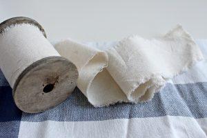 bomullstyg på rulle - bomullstrasor