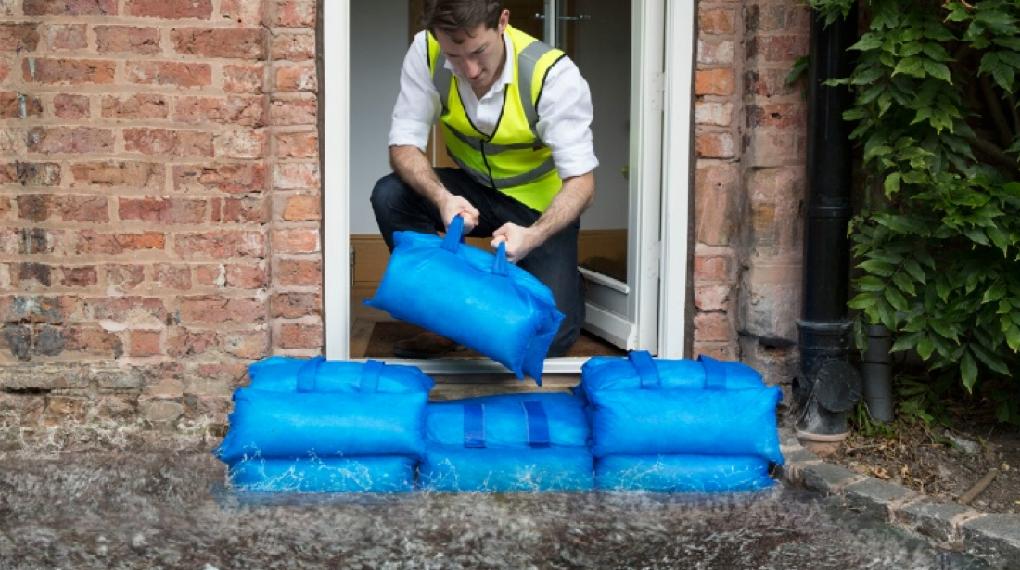Hydrosäck översvämningsskydd
