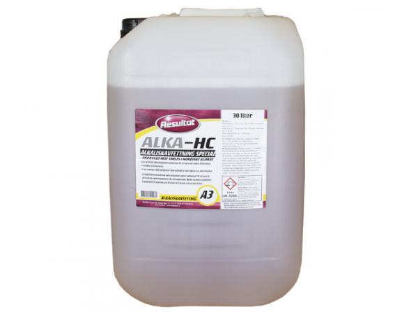 alkalisk avfettning A3 special Resultat 30L