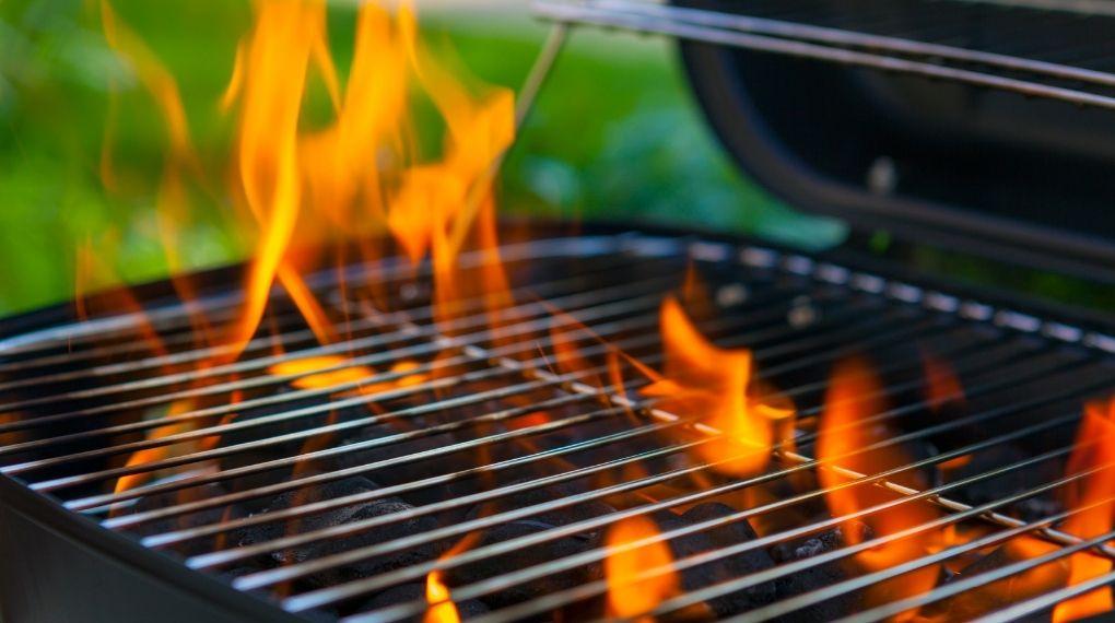 grilla brandsäkert